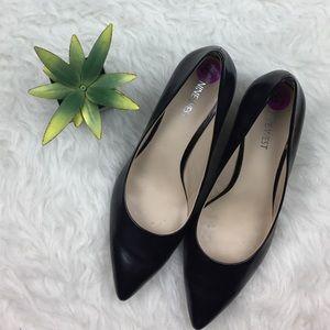 Nine West Leather Heels